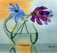 Flowers in jug